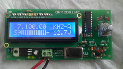 KIT - DDS VFO Synthesizer 0  30 MHz,9 bands + decoder for HF