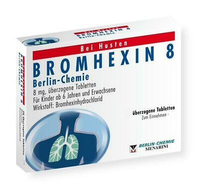 Bromhexin 8 Berlin-Chemie Dragees 50 St PZN: 4394361