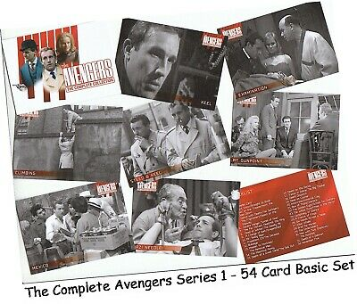 The Avengers Complete Collection Series 1 (One) - 54 Card Basic/Base Set - 2019