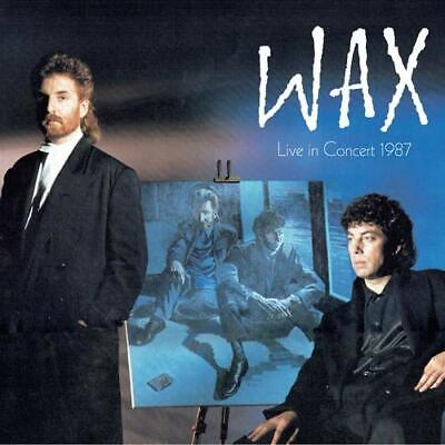 WAX Live In Concert 1987 2CD / 1DVD DIGIPAK EDITION NEW (27TH SEP)