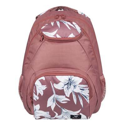 ROXY Shadow Swell Backpack - Withered Rose Lily House Schoolbag ERJBP03737-MMG6