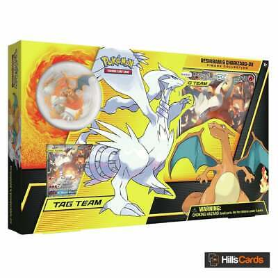 Reshiram & Charizard GX Figure Collection Box | Pokemon Trading Card Game TCG