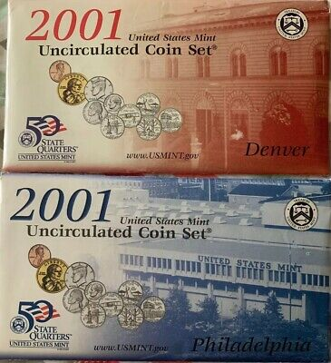 1981 US MINT QUARTERS Uncirculated Coins from U.S Mint Cello Packs QTY 10