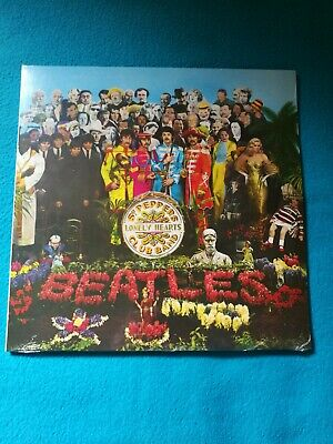 The Beatles ‎– Sgt. Pepper's Lonely Hearts Club Band 180G Vinyl Lp (New)