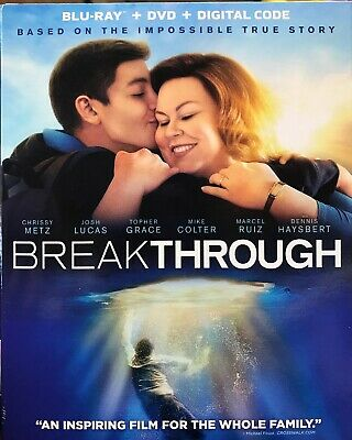 Breakthrough (Blu-Ray + DVD + Digital Code) W/ Slipcover NEW Free Shipping
