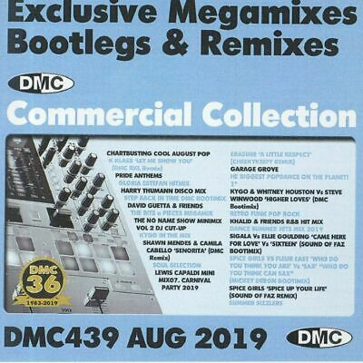 DMC COMMERCIAL COLLECTION 439 - August 2019 DJ Only Remixes