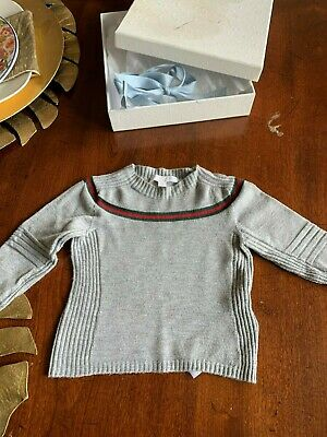 Authentic Gucci Baby Sweater girl/boy 3/6 months