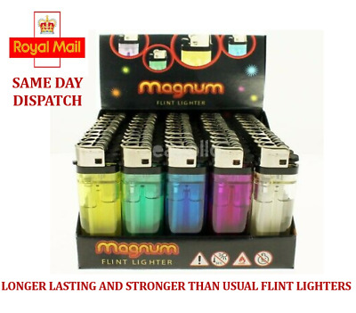 Disposable Lighters Flint Adjustable Flame Child Safety - Same Day Dispatch