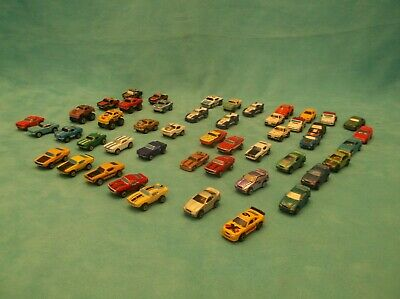 Lot 48 Micro Machines-39 Galoob, 2 Road Champs & 7 Unknown(Maybe be Galoob)