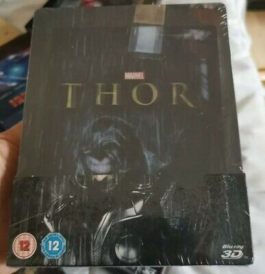 Marvel's Thor Zavvi UK Lenticular 3D Blu-ray Steelbook New & Sealed