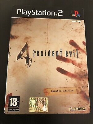 Ps2 Playstation 2 Resident Evil 4 Pal Ita Limited Edition Come Nuovo Perfetto