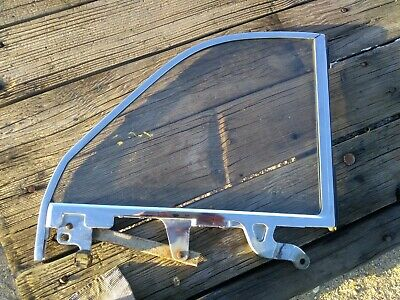 Show Car! 1963 buick special convertible R.H. quarter window frame complete