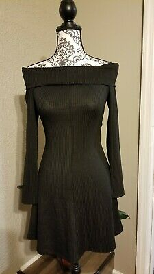 DIVIDCD H&M Women Black Casual Dresssize 2 pre-owned