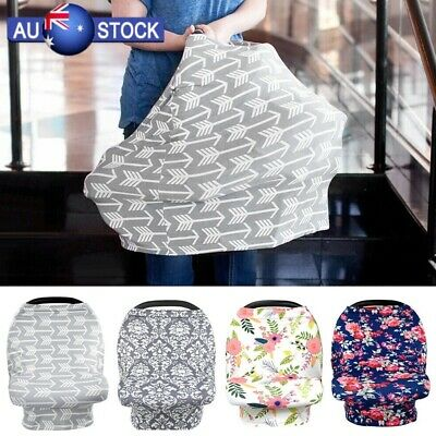 New Breastfeeding Baby Nursing Cover Infant Stroller Car Seat Scarf Seat Canopy