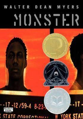 Monster  (ExLib) by Myers, Walter Dean