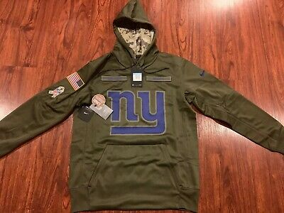 new product 604b4 60219 NIKE NY GIANTS Salute to Service Therma-Fit Hoodie ...