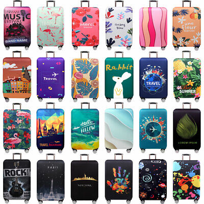 "Thicken Luggage Protective Cover 18""-32"" Trolley Baggage Suitcase Cover Elastic"