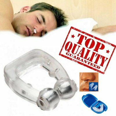 Silicone Health Care Anti Snore Nose Clip Night Sleeping Anti Snoring Clip
