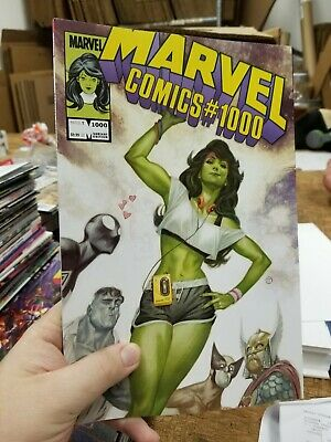 Marvel Comics #1000 Tedesco 1980's Variant (Marvel, 2019)