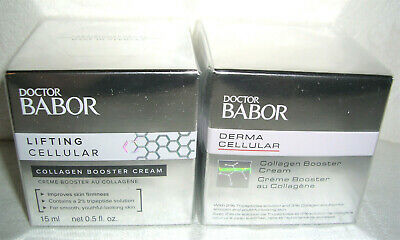 (106,63€/100ml)Doctor BABOR Lifting Celluar Collagen Booster CREAM Creme 2x15 30