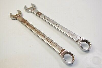 """Two wrenches! - Proto Professional 1232 Combination Wrench 1"""" *MADE IN USA*"""