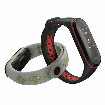 For Xiaomi Mi Band 3/4 Replacement Sport Silicone Strap Wristband Bracelet☄N5