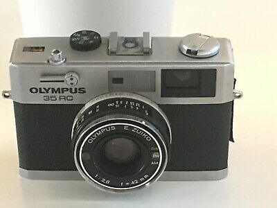 Olympus 35 RC 35mm Film Camera With Olympys E Zuiko 2,8 f 42mm Lens