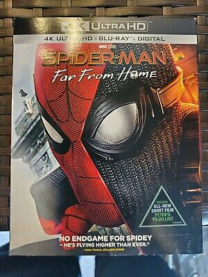 Spiderman Far from Home (4K Bluray/Bluray/No Digital)