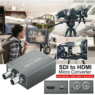 HD 1080P SDI To 2-way HDMI Converter HDMI To 3G-SDI/HD-SDI Converter Adapter