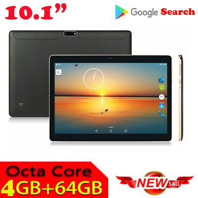 10.1 pollici 4GB+64GB Tablet PC bluetooth Android 6.0 Octa Core WIFI 2 SIM