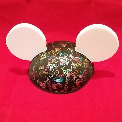NWT Disney World Parks Mickey Mouse Ears Made with Magic Ear Hat Light-Up Glow