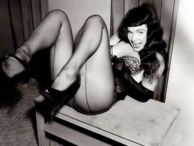 BETTIE PAGE 8x10 COLOR SEXY CELEBRITY PHOTO PICTURE 1