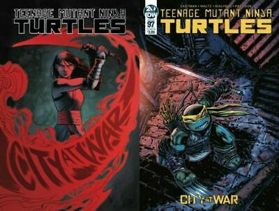 TMNT Ongoing #97  Cover A & B Kevin Eastman Variant