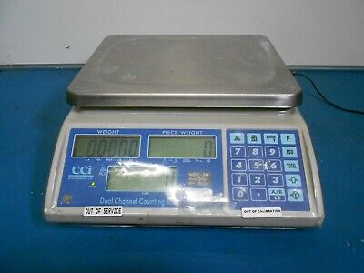 CCi NDC 3H Counting Scales Dual Channel Parts Counter