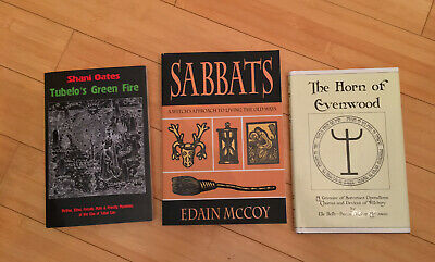 Witchcraft Luciferian 3 Book Lot Shani Oates Robin Artisson Edain McCoy Wicca