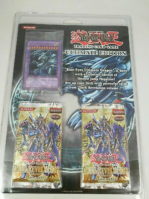 Yugioh Ultimate Edition Blister Blue Eyes Ultimate Dragon New Factory Sealed