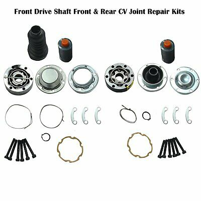 Jeep Grand Cherokee Liberty 4x4 Front Drive Shaft 98-06 CV Joint Replacement Kit
