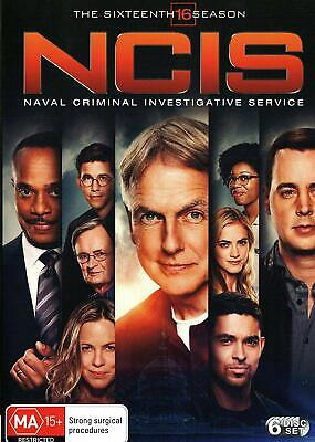 NCIS Season 16 (Region 2 UK Compatible) DVD Genuine The Complete Series Sixteen