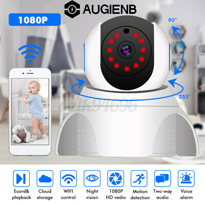 AUGIENB 1080P Security Camera System HD WiFi IP Outdoor Home Wireless CCTV IP66
