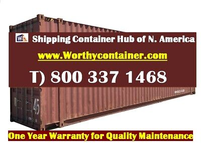 45' HC Shipping Container / 45ft Cargo Worthy Container in Miami, FL