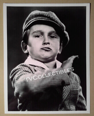 """8x10 Photo~ OUR GANG Movies ~Little Rascals ~Kendall """"Breezy"""" McComas ~Headshot"""