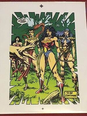 WONDER WOMAN 8 George Perez Reprinted Challenge of the Gods 2004