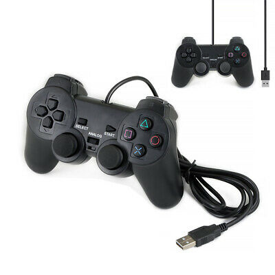 USB 2.0 Wired Game Remote Controller Gamepad Joystick PC Joypad Computer HOT