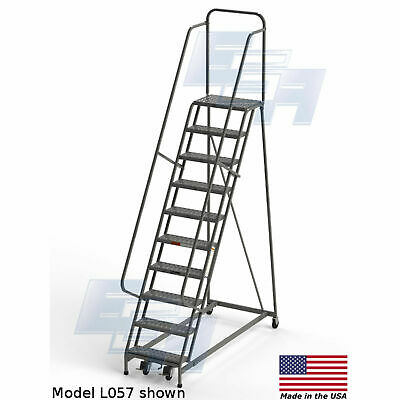 Miraculous Tri Arc 10 Rolling Step Ladder Shop Waz For Industrial Squirreltailoven Fun Painted Chair Ideas Images Squirreltailovenorg