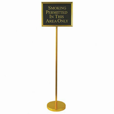 "Aarco Aluminum Framed Director Gold - 15""W x 12""H"
