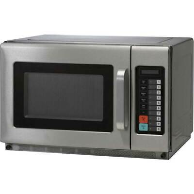Birko 34L 1100W 10A Commercial Microwave with Removable Shelf 1201101