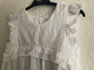 Girls White Top Next Age 9 Years NEW Floaty Top