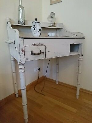Antique Biedermeier Cosmetics Table Shabby Chic Damentischchen Sideboard