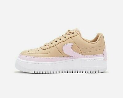 NIKE AIR FORCE AF 1 Jester XX SE White Orange UK 7 EU 41