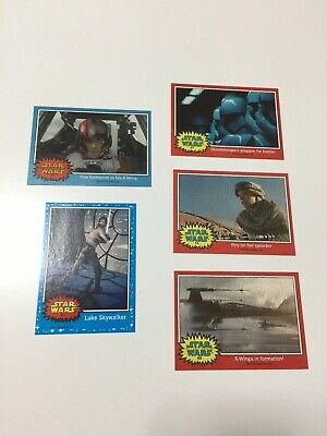 Topps Star Wars The Force Awakens Rare SDCC Cards. Original.